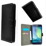 Samsung,galaxy,a3,book,style,wallet,case,zwart