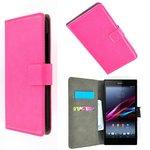 Sony,xperia,m2,aqua,book,style,wallet,case,roze