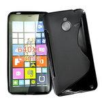 Microsoft-lumia-640-xl-slicone-case-zwart