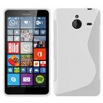 Microsoft,lumia,640,xl,hoesje,slicone,case,wit