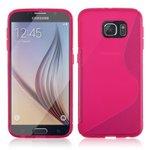 Samsung,Galaxy,S6,edge+,plus,Slicone,case,roze