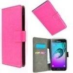 Samsung,galaxy,A7,2016,hoesje,book,style,wallet,case,roze