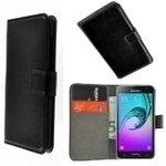 Samsung,galaxy,S7,edge,smartphone,hoesje,book,style,wallet,case,zwart