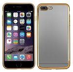 apple-iphone-7-Plus-smartphone-hoesje-silicone-tpu-case-transparant-gouden-rand
