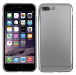 apple-iphone-7-Plus-smartphone-hoesje-silicone-tpu-case-transparant-zilver-rand
