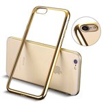 apple-iphone-7-smartphone-hoesje-silicone-tpu-case-transparant-gouden-rand