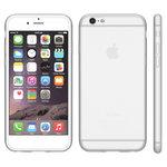 iphone,6,plus,hoesje,slicone,case,transparant