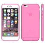 iphone,6,plus,hoesje,slicone,case,roze
