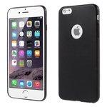 iphone,6,plus,hoesje,slicone,case,zwart
