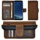 Samsung-Galaxy-S8-hoesje-Echt-Leer-Library-Bookcase-hoes-Antiek-Bruin-Pearlycase