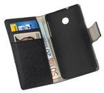 Huawei-Ascend-Y330-Wallet-Book-Case-cover-Y-Zwart