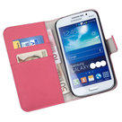 Samsung,young,2,book,style,wallet,case,roze