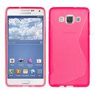 Samsung Galaxy E7 TPU Silicone Case Roze