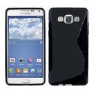 Samsung Galaxy E5 Silicone Case Zwart