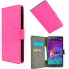 Samsung,galaxy,note,4,book,style,wallet,case,roze
