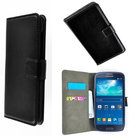Samsung,galaxy,core,plus,book,style,wallet,case,zwart