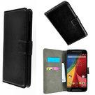 Motorola-moto-e-2015-slim-wallet-bookcase-zwart