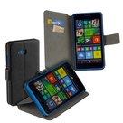 Microsoft-lumia-640-book-style-wallet-case-hoesje-zwart