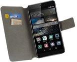 Huawei-p8-wallet-bookcase-zwart