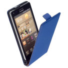 Huawei-p8-leder-flip-case-hoesje-blauw