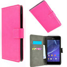 Sony-xperia-z4-book-style-wallet-case-roze