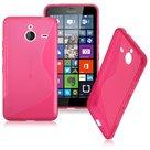 Microsoft,lumia,640,xl,hoesje,slicone,case,roze