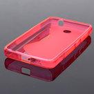 Microsoft,lumia,430,hoesje,slicone,case,roze
