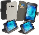 Samsung galaxy xcover 3 book style wallet case wit