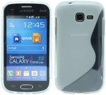 Samsung,galaxy,trend,lite,s7390,hoesje,slicone,case,transparant