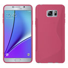 Samsung,galaxy,note,5,hoesje,slicone,case,roze