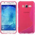 Samsung,galaxy,j7,hoesje,slicone,case,roze