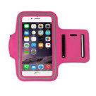Apple,iphone,6s,plus,hoesje,sport,armband,case,roze