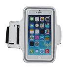 Apple,iphone,6s,plus,hoesje,sport,armband,case,wit