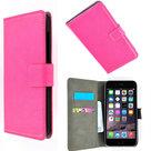 Apple,iphone,6s,plus,book.style,wallet,case,roze