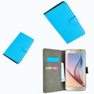 Samsung,galaxy,s5,neo,book,style,wallet.case.turquoise