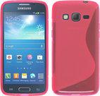 Samsung Galaxy Core Prime ve Slicone Hoesje roze