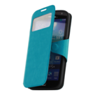 Samsung,galaxy,s4,ve,book,style,wallet,case,turquoise