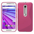 Motorola,moto,x,force,hoesje,slicone,case,roze