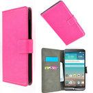 LG.K10,smartphone,hoesje,book,style,wallet,case,roze