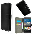 HTC-One-M9s-smartphone-hoesje-book-style-wallet-case-zwart