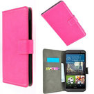 HTC-One-M9s-smartphone-hoesje-book-style-wallet-case-roze