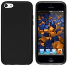 Apple,iphone,5c,hoesje,slicone,case,zwart