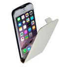 Apple-iPhone-6s-Plus-Lederlook-Flip-case-klap-hoesje-cover-Wit
