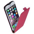 Apple-iPhone-6s-Plus-Lederlook-Flip-case-klap-hoesje-cover-Roze