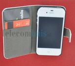 Apple iPhone SE Smartphone hoesje Book Style Wallet Case - Wit