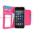 Apple iPhone SE smartphone hoesje Wallet Case Cover uitneembaar hoesje - Roze