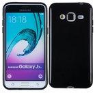 Samsung-Galaxy-J3-2016-Smartphone-Hoesje-Tpu-Siliconen-Case-Zwart