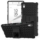 sony-xperia-z5-smartphone-hoesje-shockproof-case-tweedelig-met-standfunctie-zwart