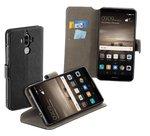 Huawei-Mate-9-smartphone-hoesje-wallet-book-style-case-y-zwart