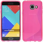 Samsung-Galaxy-A3-2016-Smartphone-Hoesje-Tpu-Silicone-Case-S-Roze
